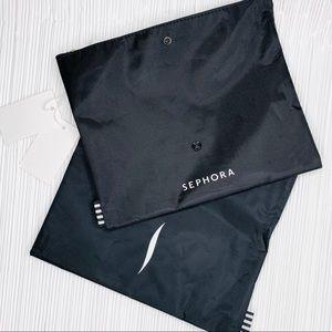 2 x Sephora foldable makeup bag toiletry bag